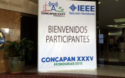 Participación de IMFICA en CONCAPAN Honduras 2015.